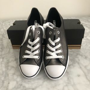 NWT Converse Dainty Metallic Shoes